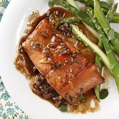 Orange Pecan Salmon (this turned out well, great flavor, pretty sweet though)