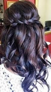 Image result for half updos for long hair