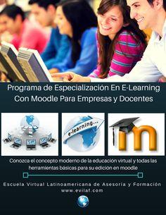 Conozca los conceptos modernos de la educación virtual y todas las herramientas para su edición en moodle. Mas información a contacto@evilaf.com Tools, School