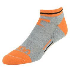 Women's Mojo Tennessee Volunteers Low-Cut Socks, Size: 9-11, Grey