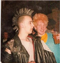 punk Candid Snapshots of Punk Culture Thro -