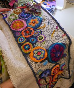 Hill Continued Wool Poppies President Katie Was In My Brigitta S Cl She Is Working On A Karla Girard Design Top Picture Tak