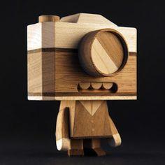 Nabaroo / Search - handmade diy wood wooden toy robot character design figures