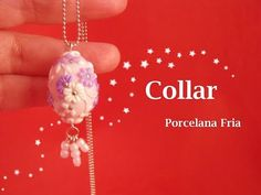 Collar en Porcelana Fria - Cold Porcelain - YouTube