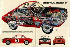 Classic Car News Pics And Videos From Around The World Cutaway, My Dream Car, Dream Cars, Technical Illustration, Ex Machina, Car Posters, Toy Trucks, Car Painting, Rally Car