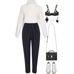 Untitled #958 by romane-inspiration on Polyvore featuring polyvore, fashion, style, Proenza Schouler, Topshop, Agent Provocateur, Acne Studios, Yves Saint Laurent, Olivia Burton and Forever 21