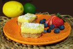 Lemon Bliss Bars –  Paleo Recipe | Paleo Newbie I am going to make this with some of the windfall sour oranges