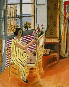 Matisse, Henri (1869-1954) The Morning Session; La Seance du Matin, 1924 (oil on canvas)