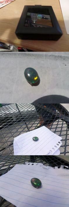 Black Opals 181110: Australian Black Opal Oval 12X9 Mm 1.90 Ctw -> BUY IT NOW ONLY: $1200 on eBay!