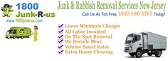 Rubbish& Junk removal service in your service, cheap and best, give us a call at toll free (1800) 586-5787