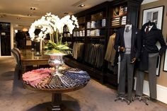 Display Table - Boulevard des Capucines, Paris: Flagship Store Launch - Hackett Designer Menswear by Hackett London, via Flickr