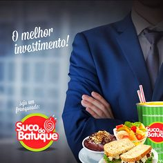 Seja um Franqueado do Suco do Batuque,   para maiores informações acesse nosso site: www.sucodobatuque.com.br