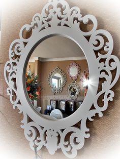 Mobiliário 21: Espelho, Espelho Nosso. Item Desejo de Todos os Ambientes.
