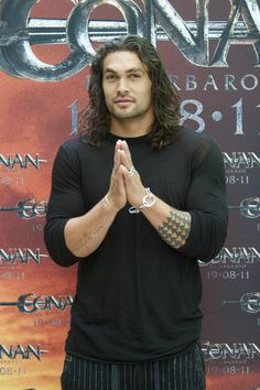 Jason Momoa Photos - Jason Momoa attends 'Conan The Barbarian' Photocall in Madrid - Zimbio