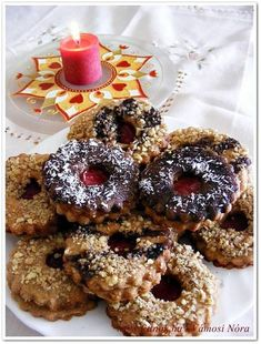 Diabetic Recipes, Diet Recipes, Healthy Recipes, Doughnut, Cookie Recipes, Breakfast Recipes, Clean Eating, Food And Drink, Sweets
