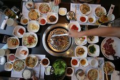 Korean BBQ- you haven't lived if you haven't been to one. :-)
