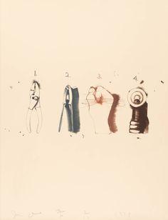 jim dine | Jim Dine, 'Nutcracker' 1973