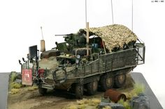 Army Surplus Vehicles, Military Vehicles, Plastic Model Kits, Plastic Models, Model Maker, Military Modelling, Military Diorama, Armored Vehicles, Model Pictures