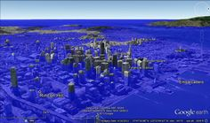 Southern Fried Science, home of Andrew David Thaler's #DrownYourTown, using google maps to model sea level rise