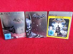sparen25.dePs3 Spiele Sammlung Trilogie Batman Arkham Asylum Origins City Steelbook Trilogysparen25.info , sparen25.com
