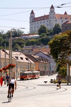 Bratislava Castle and Old Town of Bratislava, Slovakia – Live Cruise Review: Viking Embla, Grand European Tour 2013 – Bratislava, Slovakia and Vienna, Austria | Popular Cruising (Image Copyright © Jason Leppert)