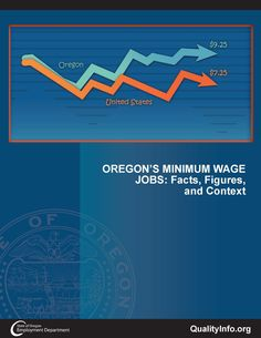Oregon's minimum wage jobs : facts, figures, and context, by the Oregon Employment Department