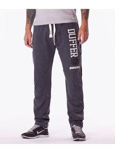 Pantaloni barbati sport Duffer T gri inchis