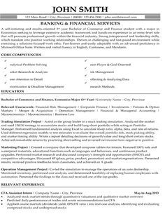 click here to download this banking and financial services resume template http