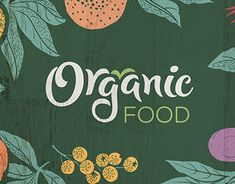 Organic Food is new at russian market fruit and vegetables seller. İ designed logo, identity and packages for this company.