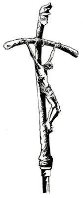 Papal cross.
