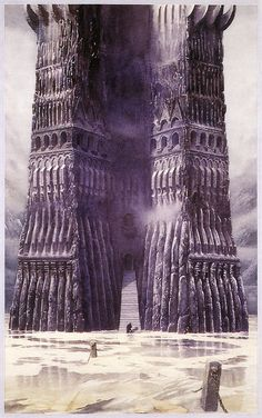 The ancient tower of the Wagnastin King, Wedgyn, was very much like Orthanc, at Isengard. By the time that our story begins, only the foundations remain intact.