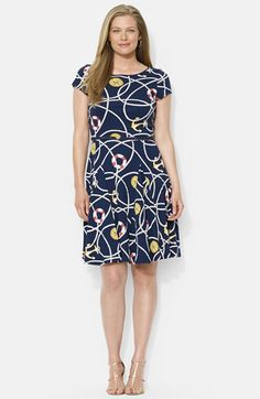 Preppy plus size seersucker dress that\'s perfect for whatever the ...