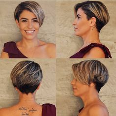 Best Pixie Cut Pixie haircuts are the trendiest one today. That is why we have handpicked photos of Best Pixie Cut 2018 – Pixie Bob Haircut, Short Pixie Haircuts, Pixie Hairstyles, Easy Hairstyles, Brünetter Pixie, Pixie Cut Blond, Long Pixie, Best Pixie Cuts, Great Haircuts