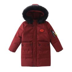 Down & Parkas in Outerwear & Outerwear, Girls' Outfit and even more. Long Winter Coats, Mens Winter Coat, Winter Jackets, Fur Collar Jacket, Casual Skirt Outfits, Down Parka, Fur Collars, Canada Goose Jackets, Boys