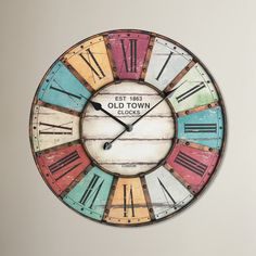 found it at wayfair co uk lacon oversized 60cm vintage wall clock wanduhr
