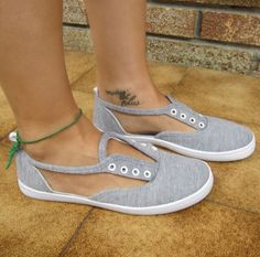 DIY Cut-Out Sneakers#DIY&Crafts#Trusper#Tip