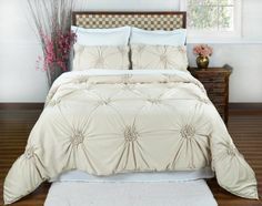 A Mattress Pad Cover Makes A Great Upholstery Change To A