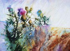 Billedresultat for ann blockley art Watercolor Artists, Watercolor Landscape, Watercolor Flowers, Watercolour Paintings, Watercolours, Watercolor Portraits, Abstract Paintings, Oil Paintings, Art Floral