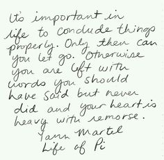 Always Conclude..