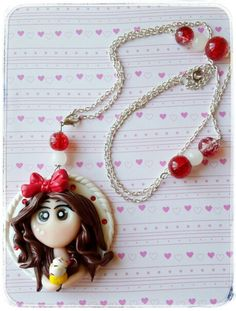 Fimo Dolly Necklace