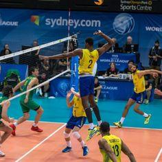 Brasil bate a Austrália por 3 a 1 e chega à sétima vitória na Liga Mundial