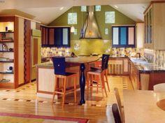 Jewel tones in your kitchen