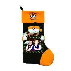 $39.99-$50.00 Baltimore Ravens Christmas Stocking Item #60598 Officially licensed merchandise This stocking features a dimensional snowman on the stocking and a place to hold your most cherished pictures.  All done in the official team colors and logos  Additional product features: Stocking comes ready-to-hang with a loop at the top Cuff at the top features your teams logo Comes complete with a  ...