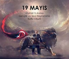 19 Mayıs Atatürk'ü Anma, Gençlik ve Spor Bayramı tüm yurtta anıldı ve kutlandı.