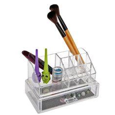 Organisateur Cosmetiques Maquillage Tiroir de Rangement Support Regles Etagere NOUVEAU #Affiliate