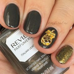 """Italian Leather"" by Revlon. #ruthsnailart #nailart"