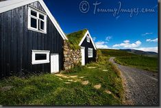 Wow, bet they like it here!  Google Image Result for http://tommyimages.com/Stock_Photos/Scandinavia/Iceland/Signs_of_Life/slides/Iceland_0444-Black_Farmhouse.jpg