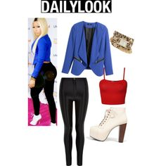 A fashion look from December 2014 featuring H&M jackets, Speed Limit 98 ankle booties and XOXO watches. Browse and shop related looks.