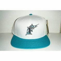 Florida Marlins Retro Snapback Cap Hat AN 2 Tone White Teal by American Needle. $9.90. Brand new retro snapback cap. American Needle Embroidered team logos. Snapback design. One Size Fits Most.