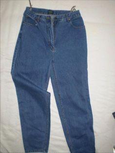 Spijkerbroek met hoge taille - maat 40 - Prijs: € 5,00